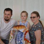 Андрей, Ольга и Катюша Скопа